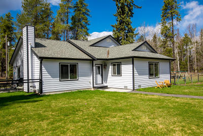 Flathead County Single Family Home For Sale: 11729 Halversen Drive
