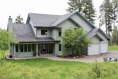 Kalispell Single Family Home For Sale: 201 Sheepherder Hill Road