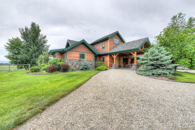 Victor Single Family Home For Sale: 323 Indian Prairie Loop