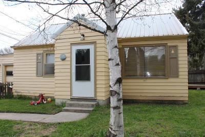 Flathead County Single Family Home Under Contract Taking Back-Up : 529 10th Street East
