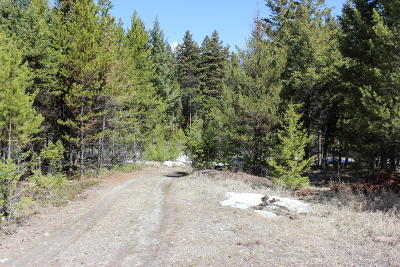Flathead County Residential Lots & Land Under Contract Taking Back-Up : Round Mountain Loop