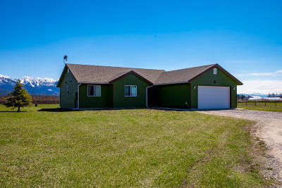 Kalispell Single Family Home Under Contract Taking Back-Up : 149 Splendid View Drive