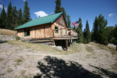 Flathead County Single Family Home Under Contract Taking Back-Up : 4540 Star Meadow Road