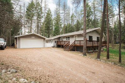 Kalispell Single Family Home Under Contract Taking Back-Up : 287 South Many Lakes Drive