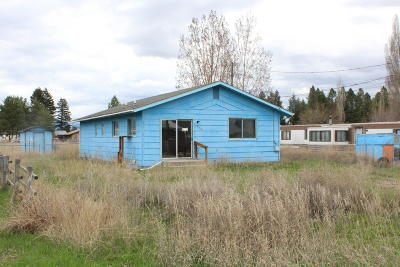 Flathead County Single Family Home Under Contract Taking Back-Up : 539 Mountain View Drive