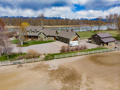 Flathead County Single Family Home For Sale: 755 Lower Valley Road