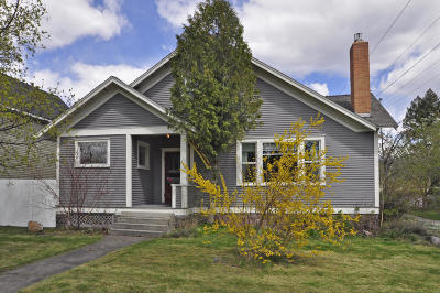 Missoula Single Family Home Under Contract Taking Back-Up : 540 East Pine Street