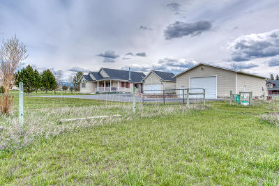 Stevensville Single Family Home Under Contract Taking Back-Up : 151 Dry Gulch Road