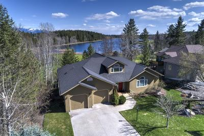 Flathead County Single Family Home Under Contract Taking Back-Up : 270 Fairway Drive