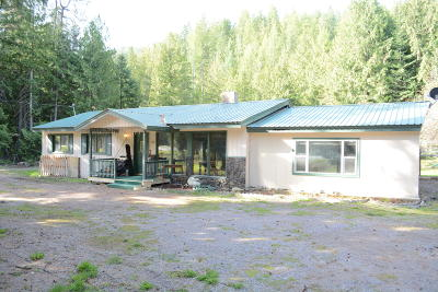 Lincoln County Single Family Home Under Contract Taking Back-Up : 27896 Us Highway 2