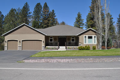 Missoula Single Family Home For Sale: 7265 Old Grant Creek Road