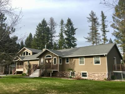 Kalispell Single Family Home Under Contract Taking Back-Up : 1000 Ranch Lane