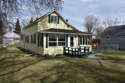 Choteau Single Family Home For Sale: 201 2nd Avenue South West