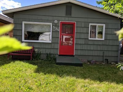Missoula Single Family Home For Sale: 535 Minnesota Avenue