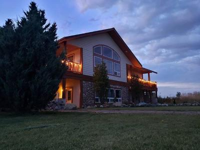 Kalispell Single Family Home Under Contract Taking Back-Up : 17 Sky Ranch Circle