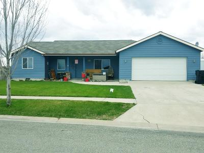 Kalispell Single Family Home Under Contract Taking Back-Up : 138 Blue Crest Drive