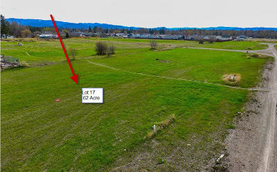 Kalispell Residential Lots & Land Under Contract Taking Back-Up : 34 Hidden Buck Trail