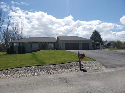Missoula Single Family Home Under Contract Taking Back-Up : 7525 Arroyo Lane
