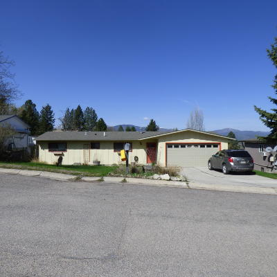 Missoula Single Family Home For Sale: 607 Overlook Way