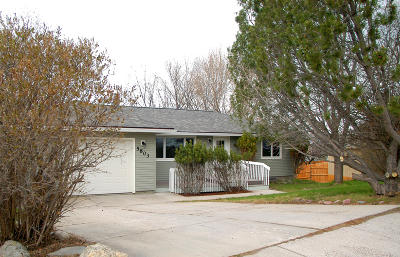 Missoula Single Family Home Under Contract Taking Back-Up : 5803 Skyview Drive