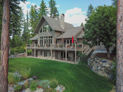 Whitefish Single Family Home For Sale: 300 Bootjack Lake Road