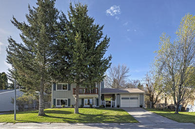 Missoula Single Family Home Under Contract Taking Back-Up : 2215 East Vista Drive