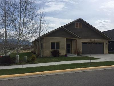 Bozeman Single Family Home Under Contract Taking Back-Up : 1594 Hunters Way