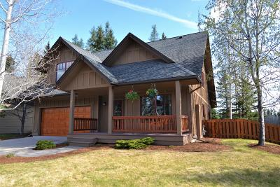 Whitefish Single Family Home Under Contract Taking Back-Up : 1039 Creekview Drive