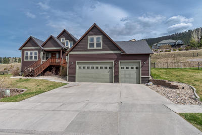 Missoula Single Family Home For Sale: 202 Mansion Heights Drive