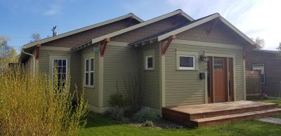 Missoula Single Family Home Under Contract Taking Back-Up : 1910 South 9th Street West