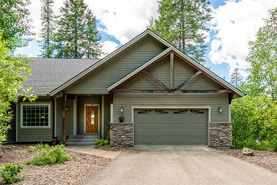 Whitefish Single Family Home For Sale: 1919 Suncrest Drive