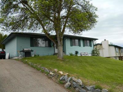 Flathead County Single Family Home Under Contract Taking Back-Up : 308 Harrison Boulevard