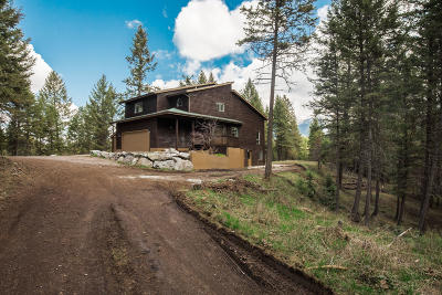 Flathead County Single Family Home Under Contract Taking Back-Up : 361 South Many Lakes Drive