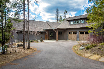 Whitefish Single Family Home Under Contract Taking Back-Up : 134 Huckleberry Lane