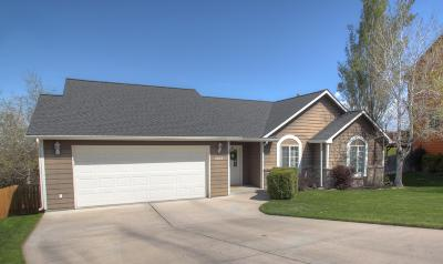 Missoula Single Family Home Under Contract Taking Back-Up : 2608 Bonnie Court