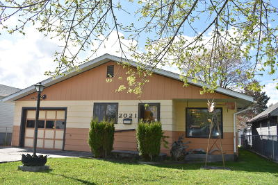 Missoula Single Family Home For Sale: 2021 South 11th Street West