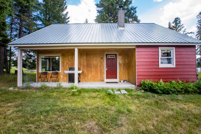 Whitefish, Olney Single Family Home For Sale: 3985 Hwy 93 West