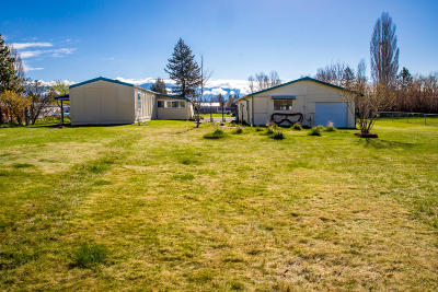 Kalispell Single Family Home Under Contract Taking Back-Up : 120 Twin Pines Drive