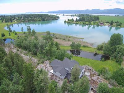 Flathead County Single Family Home For Sale: 200 Hanging Rock Drive