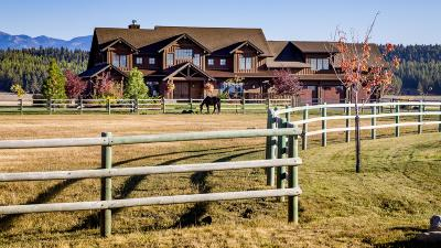 Flathead County Single Family Home For Sale: 1729 Spring Prairie Ranch Road