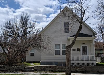 Helena Single Family Home For Sale: 315 9th Avenue