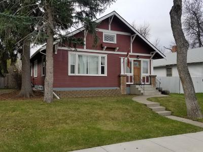 Great Falls Single Family Home For Sale: 1704 2nd Avenue North