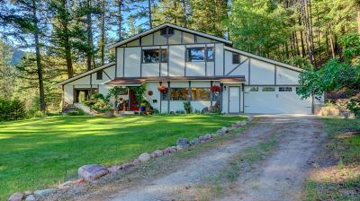 Missoula Single Family Home For Sale: 7600 Rattlesnake Gulch