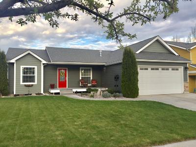 Kalispell Single Family Home Under Contract Taking Back-Up : 91 Vista Loop