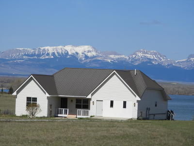Fort Shaw, Simms, Sun River, Augusta, Brady, Conrad, Dupuyer, Valier, Bynum, Choteau, Dutton, Fairfield, Power Single Family Home For Sale: 65 Mountain View Drive