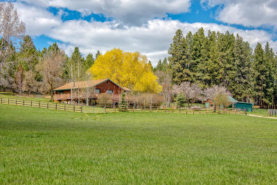 Darby Single Family Home Under Contract Taking Back-Up : 2965 Kk Ranch Road