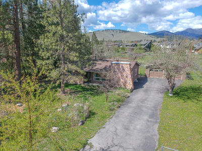 Missoula Single Family Home Under Contract Taking Back-Up : 1208 Mountain View Drive