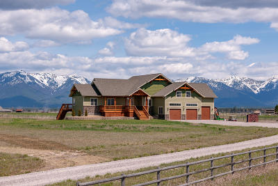 Kalispell Single Family Home Under Contract Taking Back-Up : 95 Sundance Way