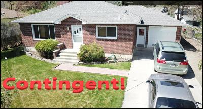 Kalispell Single Family Home Under Contract Taking Back-Up : 330 South Meridian Road