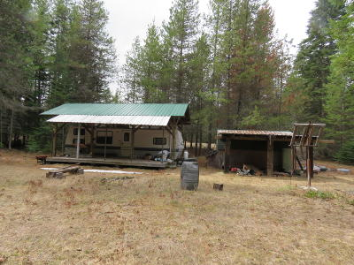 Lincoln County Single Family Home For Sale: 6417 Lower Lake Creek Road